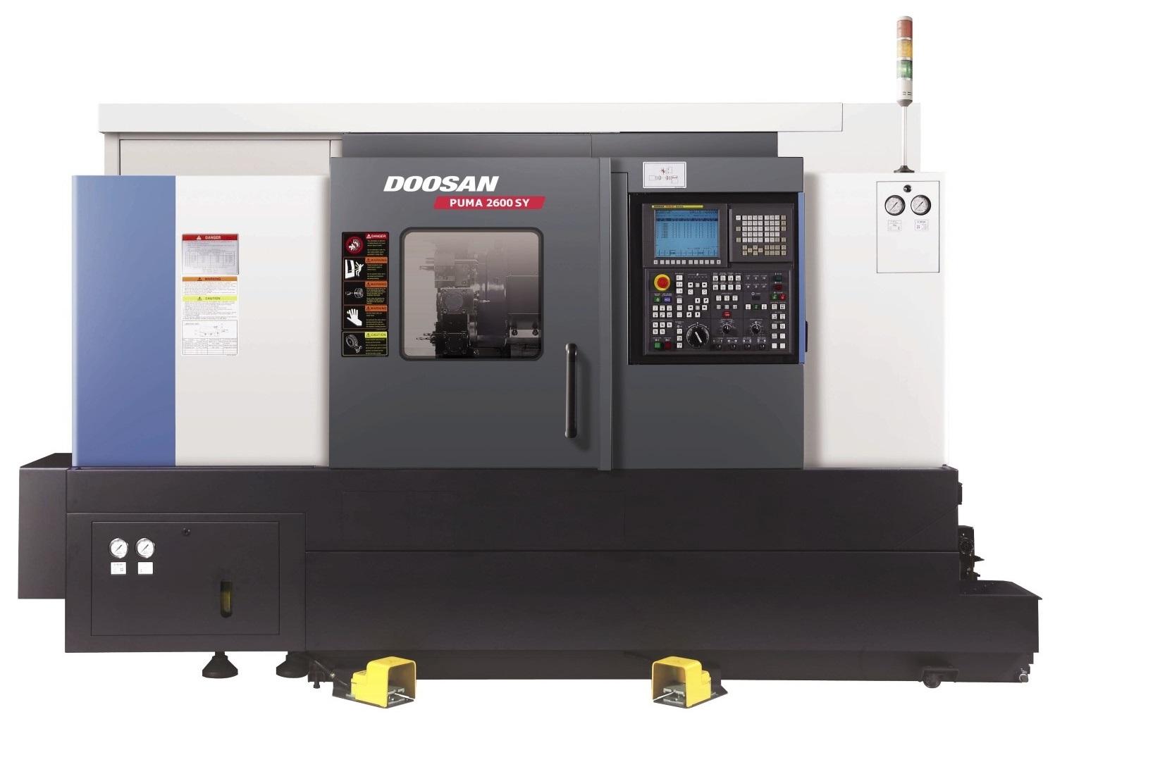 Centrum tokarskie poziome Doosan Puma 2600 LY II
